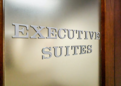 Executive Suites and offices for rent.