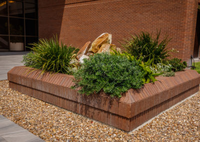 Commercial Property Leasing with inviting entryways.